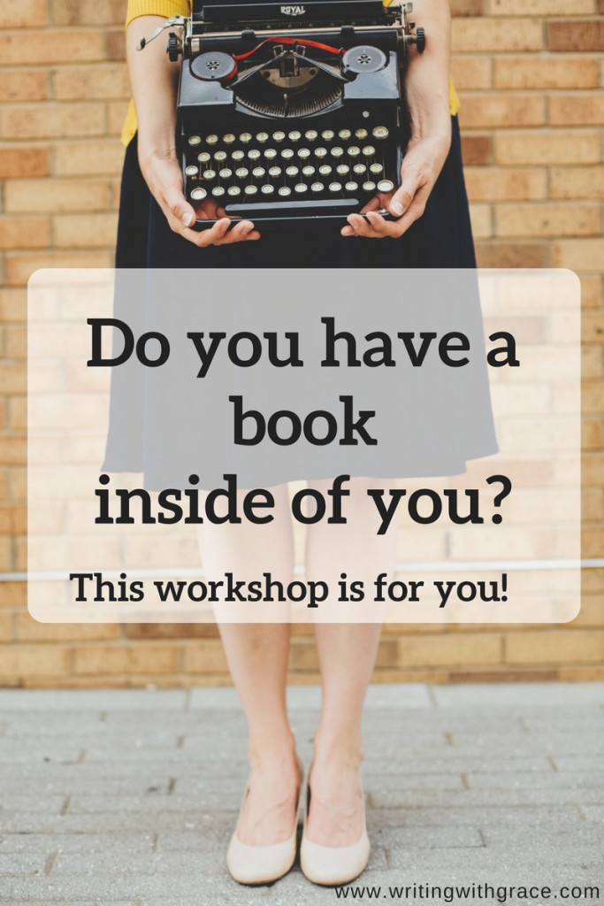 Do you have a book inside of you? www.writingwithgrace.com
