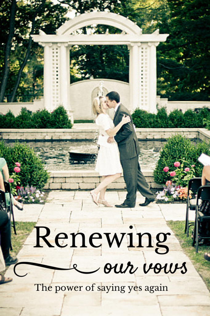 Renewing our
