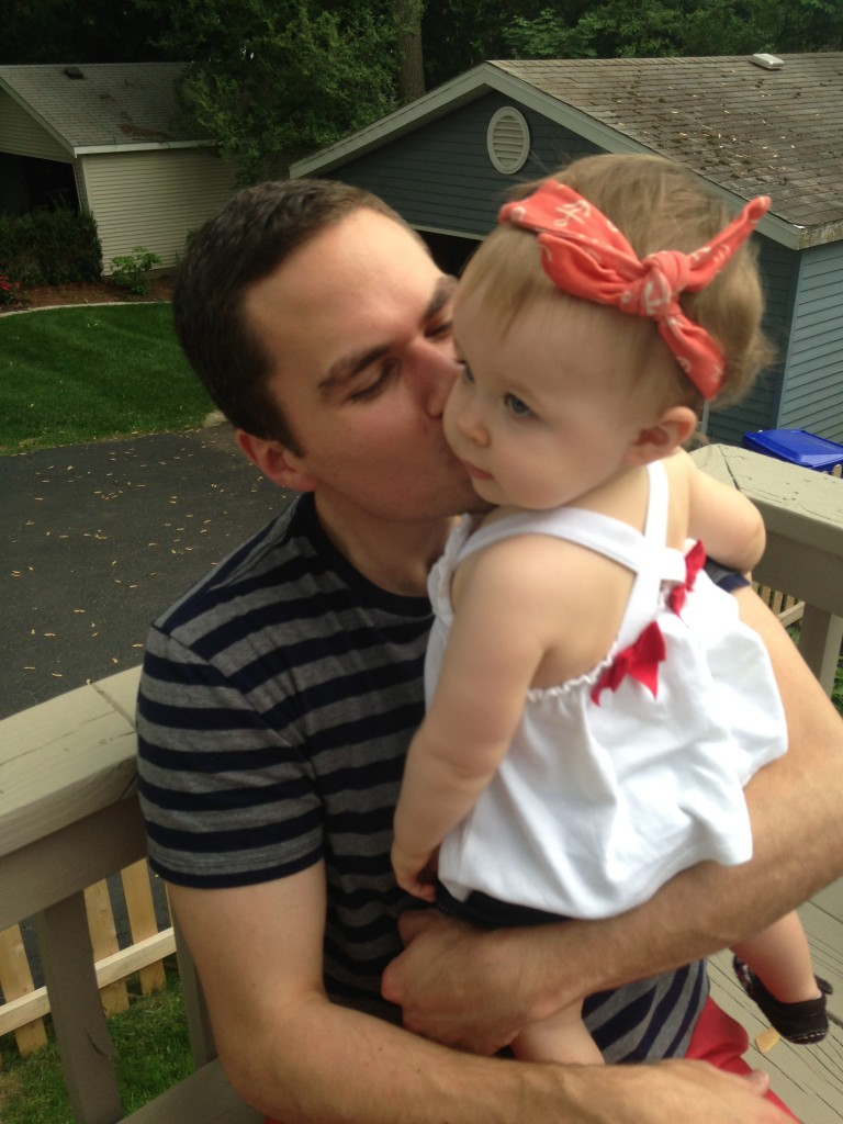 Kisses on Memorial Day