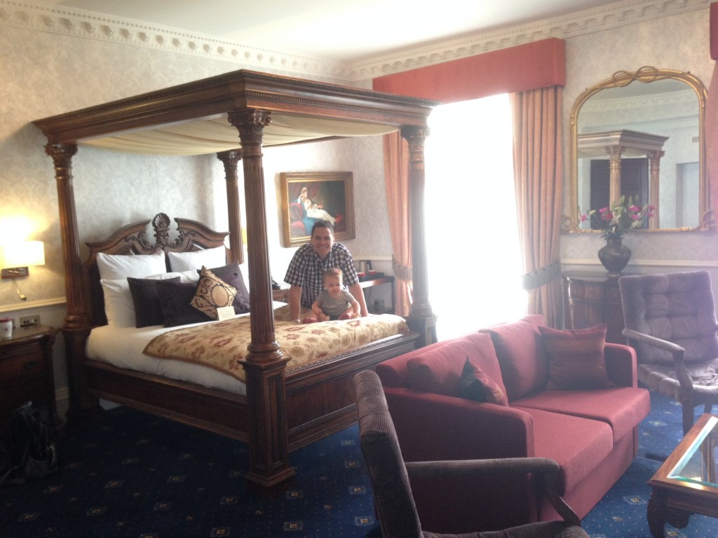 london hotel upgrade