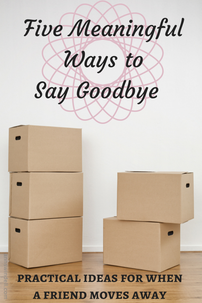 5 Meaningful ways to say goodbye (1)