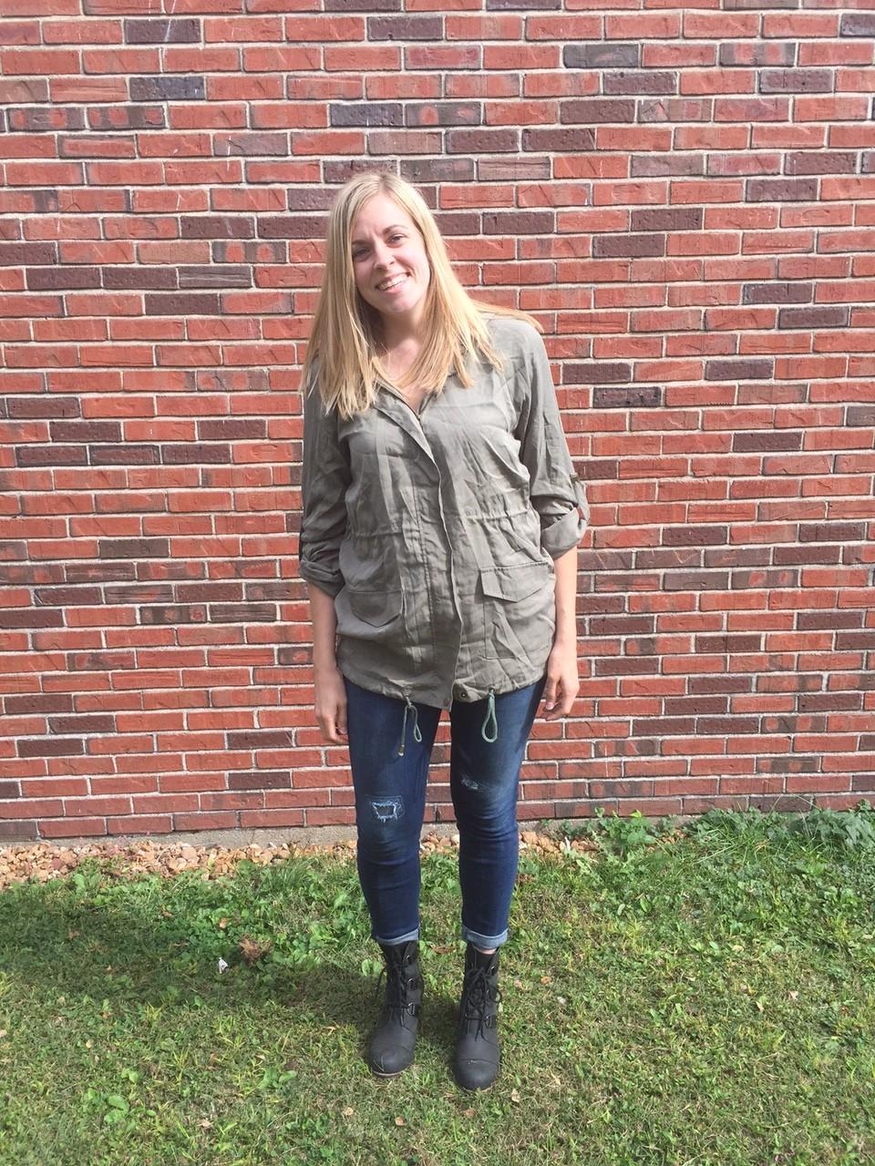 Pixley Analisse Anorak Jacket Cargo Jacket www.annswindell.com