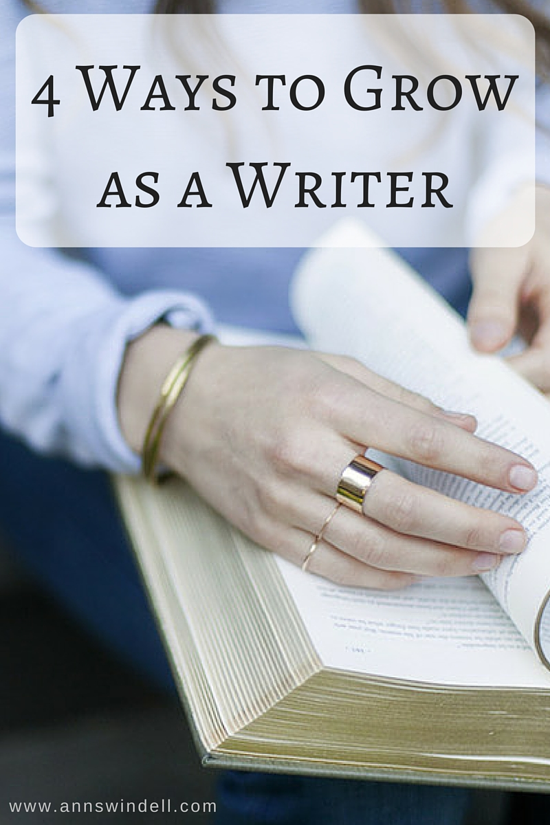 Growing as a writer