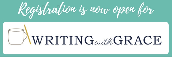 Writing with Grace course www.writingwithgrace.com
