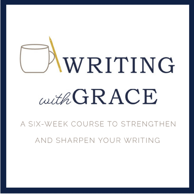 Online writing courses offered by Ann Swindell at www.writingwithgrace.com