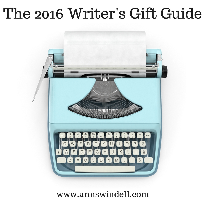 The 2016 Writer's Gift Guide at annswindell.com