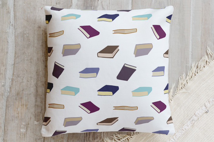 Book Pillow at the Writers Gift Guide 2016 from annswindell.com