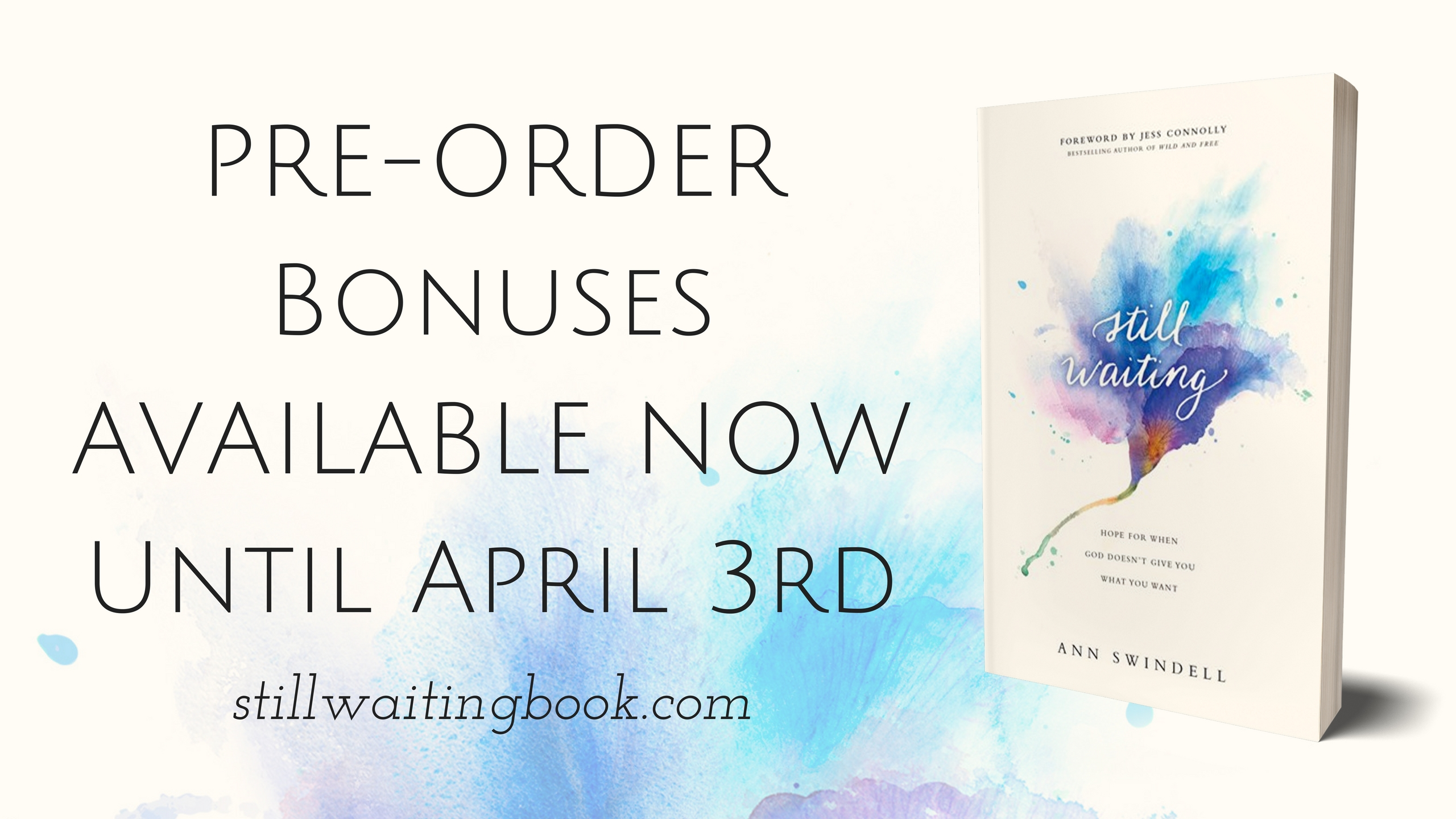 Still Waiting by Ann Swindell stillwaitingbook.com