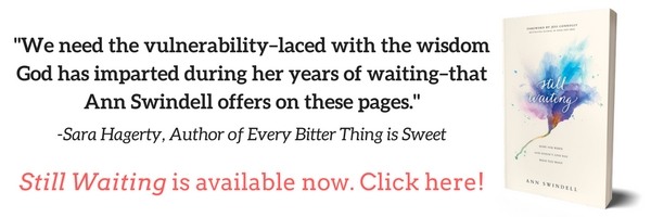 Still Waiting is available now! www.stillwaitingbook.com