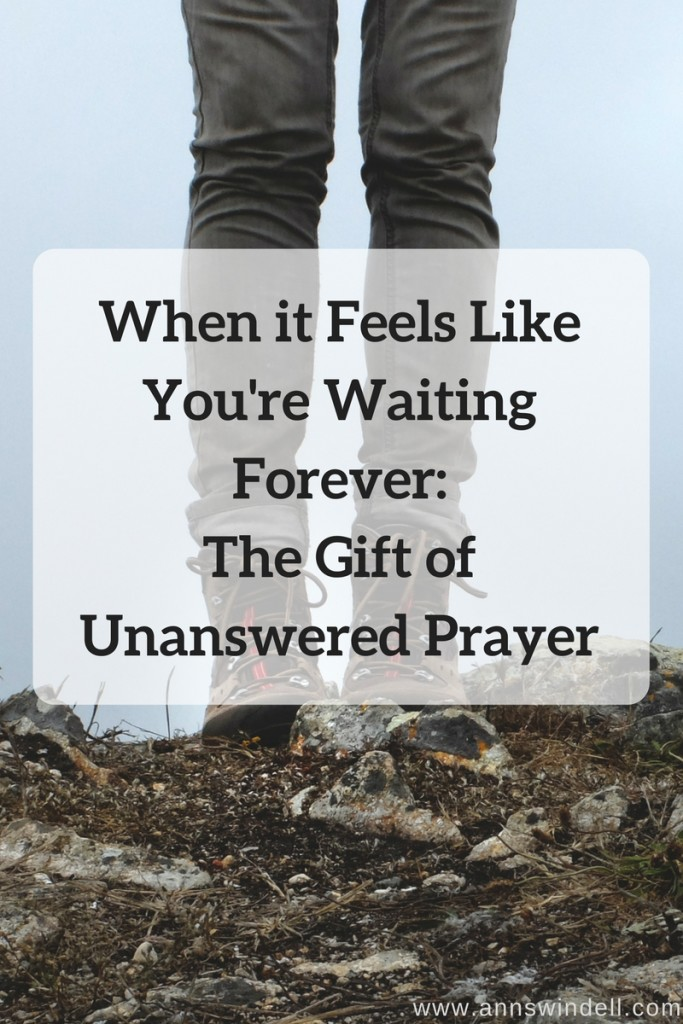 The Gift of Unanswered Prayer at www.annswindell.com
