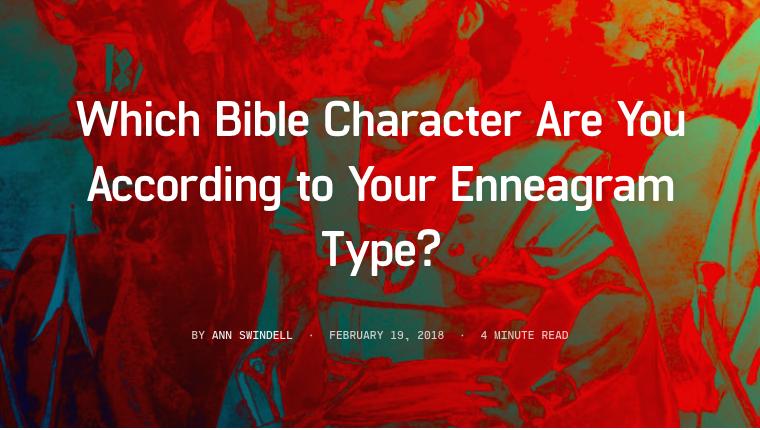What's your Biblical enneagram doppleganger? www.annswindell.com